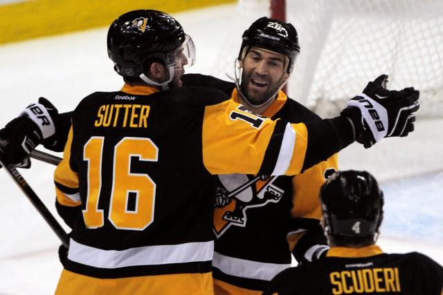Les Penguins ont mis fin à une séquence... (Photo Gary Wiepert, AP)