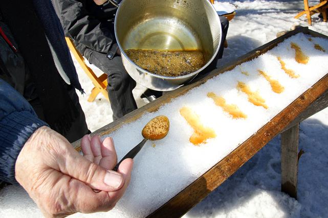 Êtes-vous condamnés à mal manger à la cabane à sucre? Pas du tout! Depuis... (Photo: Bigstock)