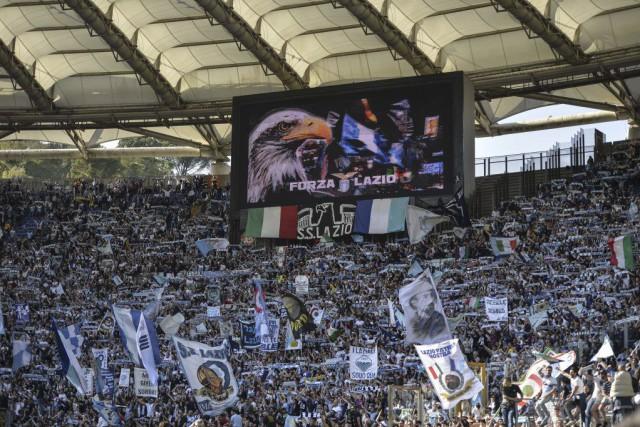 La Lazio étrennera sa deuxième place dès samedi... (PHOTO ANDREAS SOLARO, AFP)