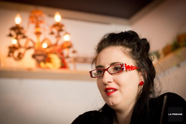 À 27 ans, Nadia Beaulieu sort à peine... (IMACOM, Jessica Garneau)