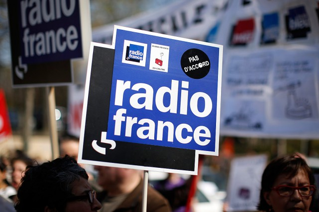 Le mouvement de grève à Radio France perturbe toujours... (PHOTO BENOIT TESSIER, REUTERS)