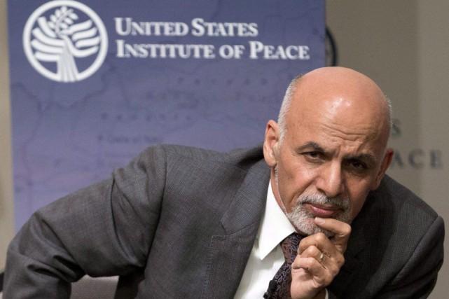 Le président afghan récemment élu Ashraf Ghani était... (PHOTO CAROLYN KASTER, AP)