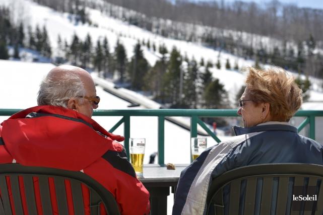 Les skieurs semblent avoir été au rendez-vous dans... (Le Soleil, Yan Doublet)