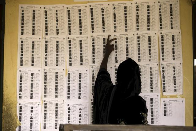 Les opérations de vote ont dû être prolongées... (Photo: Reuters)
