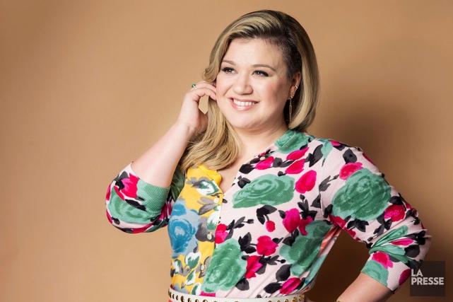 Le poids de la chanteuse Kelly Clarkson a (encore une fois) été un sujet de... (AP, Victoria Will)