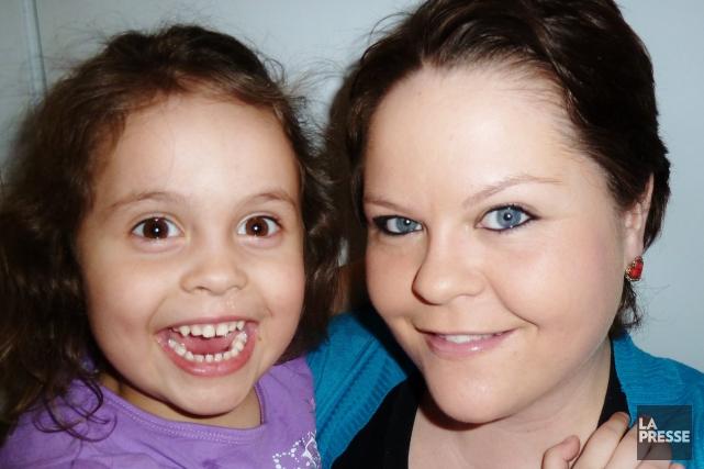 Valérie Tremblay souffre de dépression chronique depuis 12... ((Courtoisie))