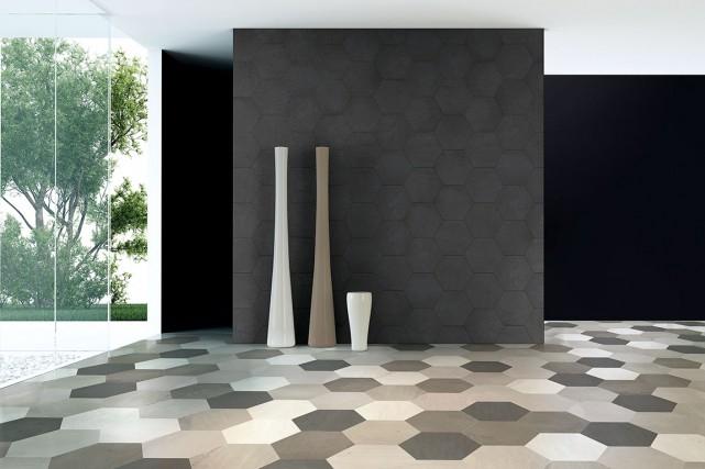Texture et style s'invitent au mur avec la... (Photo fournie par Céragrès)