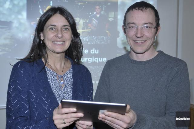 Michèle Deshaies, conseillère pédagogique en Technologies de l'information... ((Photo Le Quotidien-Rocket Lavoie))