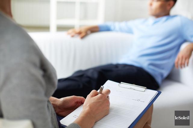 Le Collectif pour l'accès à la psychothérapie fait... (Photothèque Le Soleil)
