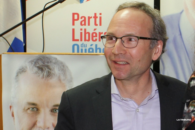 Martin Coiteux... (La Tribune, Yvan Provencher)