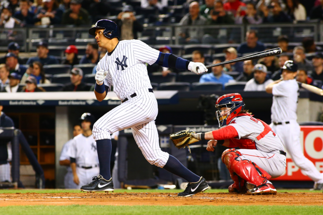 Alex Rodriguez a fait marquer trois points pour... (Photo Andy Marlin, USA Today)