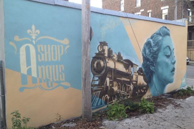 Les murales ont tendance à dissuader les graffiteurs... (Photo fournie par Tandem Rosemont-La Petite-Patrie)
