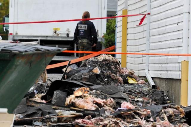 Le comptoir avait été incendié en octobre dernier.... (Archives, LeDroit)
