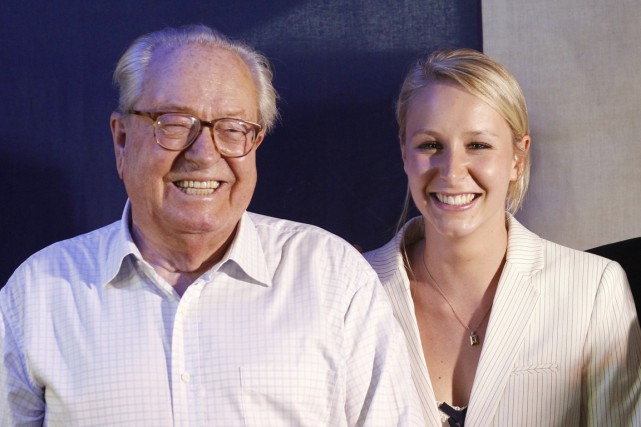 Marion Maréchal-Le Pen sera candidate à l'investiture frontiste... (PHOTO JEAN-PAUL PELISSIER, ARCHIVES REUTERS)