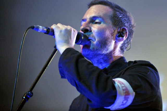 Robert Del Naja, chanteur de Massive Attack.... (Photo: archives AP)