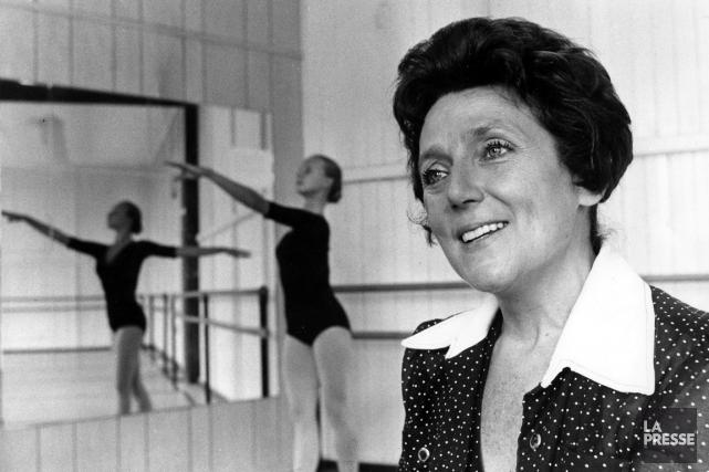 Ludmilla Chiriaeff en 1975.... (Photo: Archives La Presse)