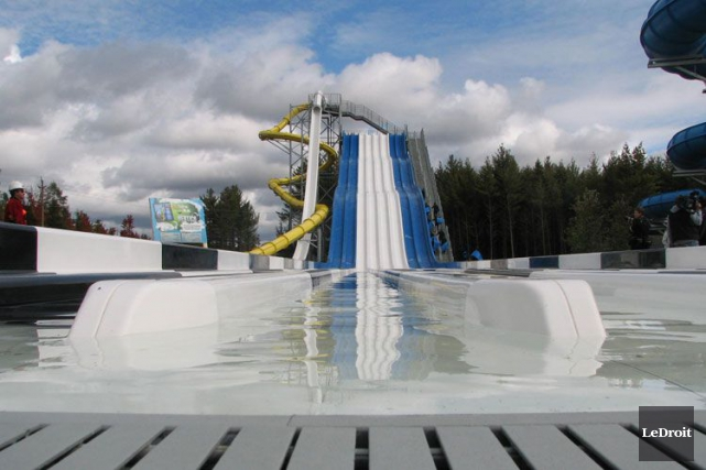 Le parc aquatique Calypso trône au sommet du palmarès des sites d'attraction de... (Archives, LeDroit)