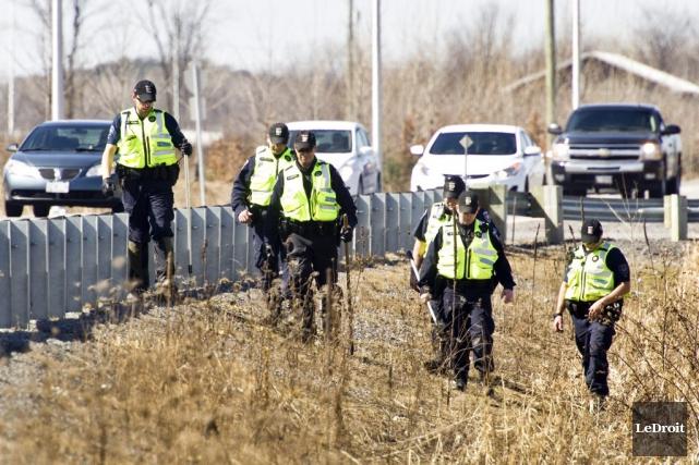 L'Unité des services d'urgence du Service de police... (Martin Roy, LeDroit)
