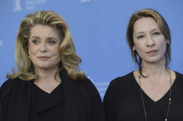 Catherine Deneuve et la réalisatrice Emmanuelle Bercot à... (Photo: archives AFP)