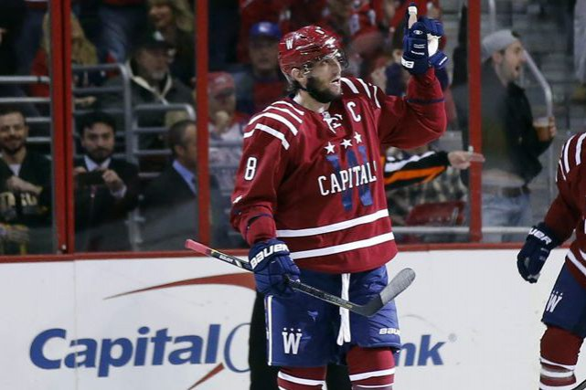 Alex Ovechkin... (PHOTO ALEX BRANDON, ASSOCIATED PRESS)