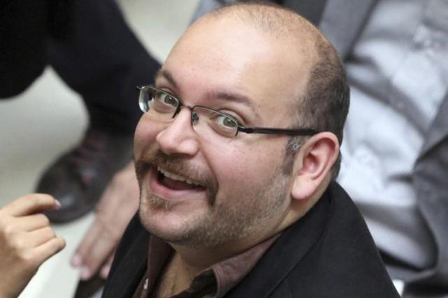 Le journaliste irano-américain Jason Rezaian est détenu par... (PHOTO VAHID SALEMI, ARCHIVES AP)