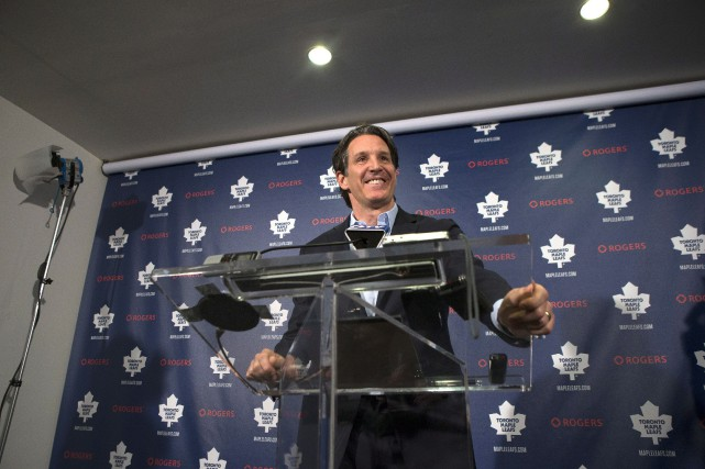 Brendan Shanahan... (PHOTO CHRIS YOUNG, LA PRESSE CANADIENNE)