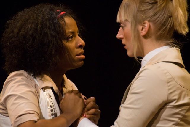 La pièce jeunesse Ce monde-là de Hannah Moscovitch,... (Photo: Alexis Chartrand, fournie par la Maison Théâtre)
