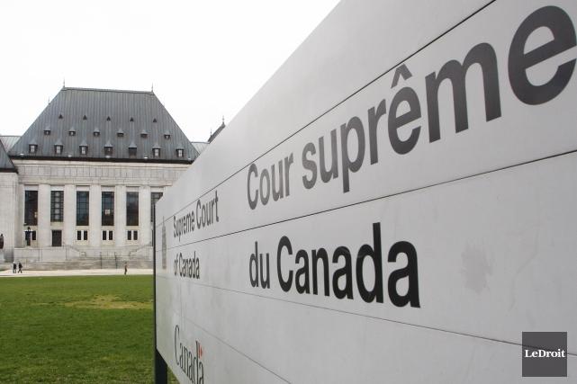 Cour suprême du Canada.... ((Photo Le Droit, Étienne Ranger))
