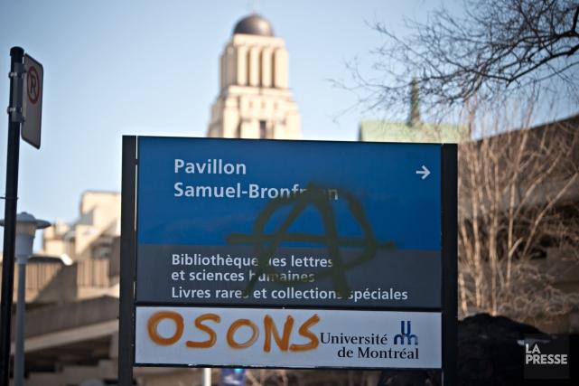 Avec les grèves étudiantes, les Québécois ont pu... (Photo Patrick Sanfaçon, La Presse)