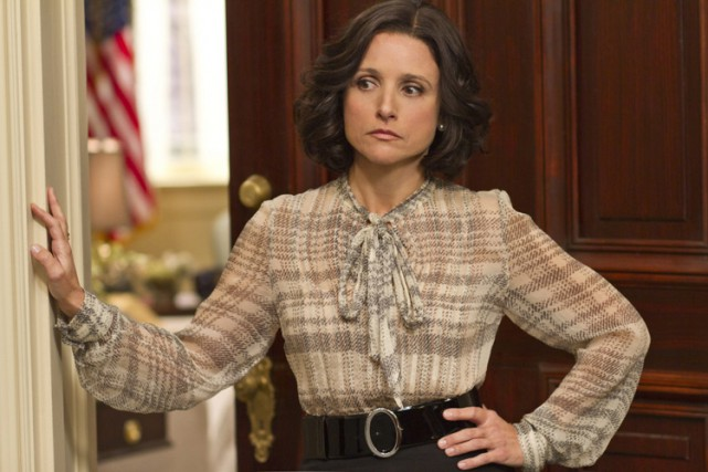 Julia Louis-Dreyfus incarne le rôle-titre dans Veep.... (Photo: AP)
