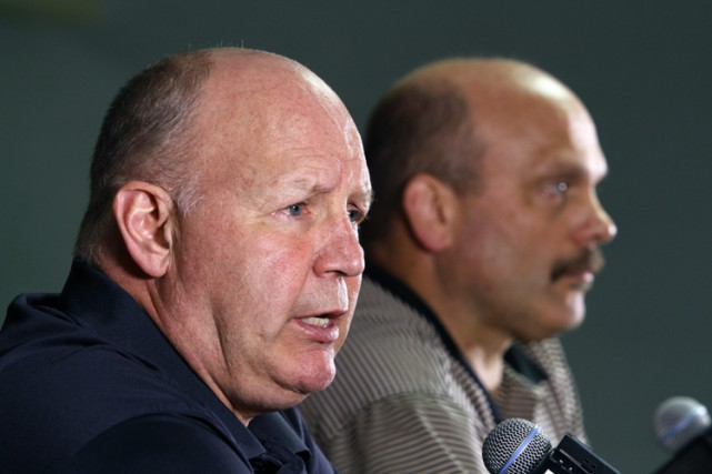 L'entraîneur Claude Julien rate les séries pour la... (Photo: AP)