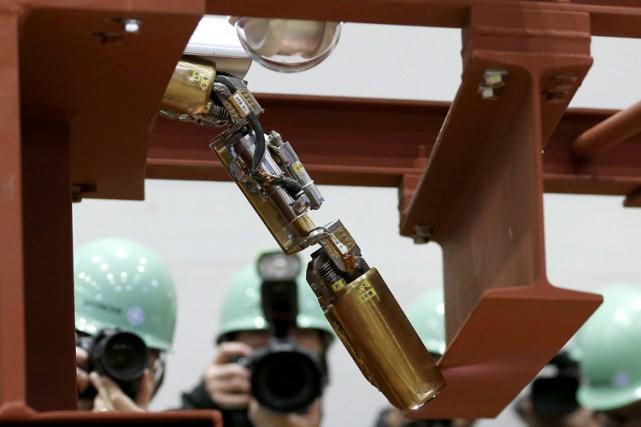 Le robot, photographié ici en février dernier, a... (Photo: AP)