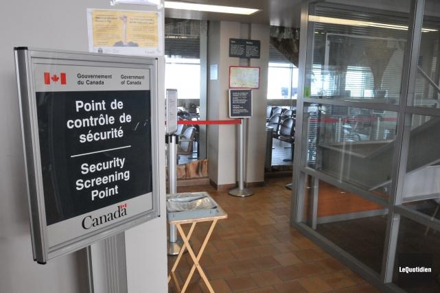 L'Agence des services frontaliers du Canada (ASFC) a... ((Archives Le Quotidien))