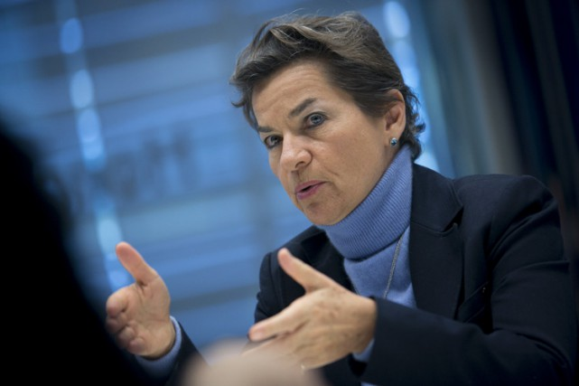 Selon Christiana Figueres, ambassadrice des Nations unies sur... (PHOTO BLOOMBERG)