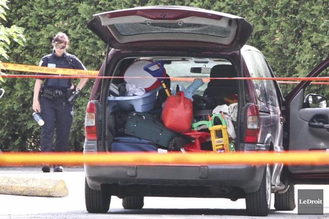 La minifourgonnette des beaux-parents avait été retrouvée au... (Étienne Ranger, archives LeDroit)