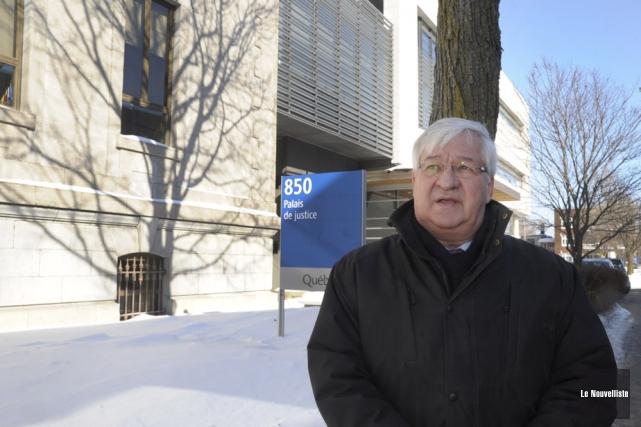 Le juge Michel Richard.... (Photo: Sylvain Mayer, Le Nouvelliste)