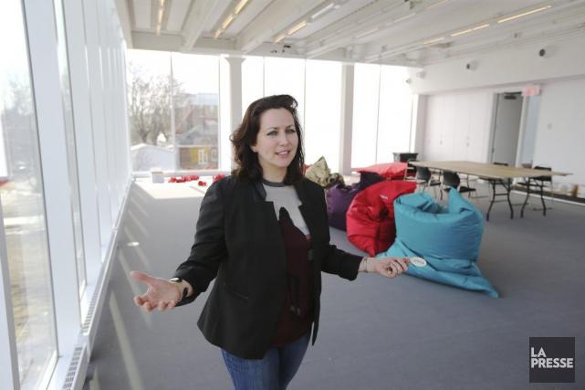 La directrice générale du Musée d'art de Joliette,... (Photo: Martin Chamberland, La Presse)
