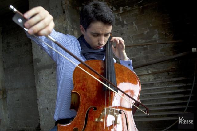 Yannick Nézet-Séguin, l'Orchestre Métropolitain et leur «soliste en... (Photo: Olivier Jean, archives La Presse)