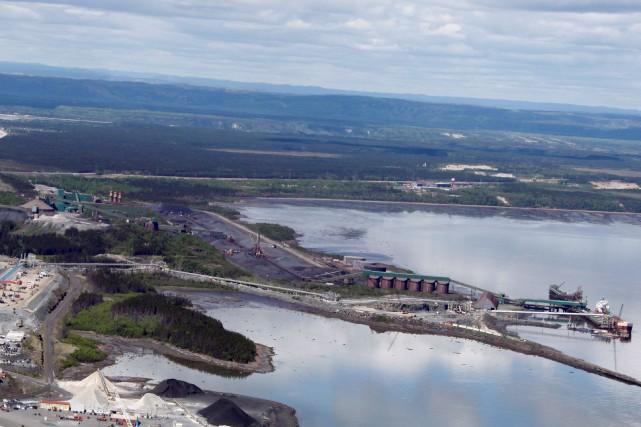 Québec cherche à acquérir les installations mises en... (Photo fournie par Cliffs Natural Ressources)