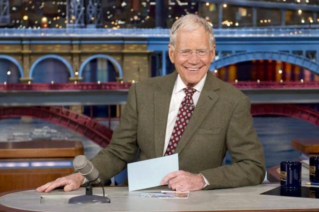 David Letterman... (Photo d'archives, AP)