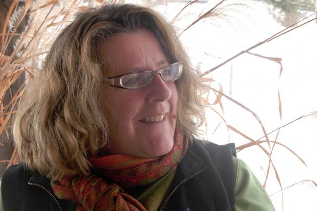 Johane Germain, fondatrice du Convivium Slow Food Vallée-de-la-Batiscan....