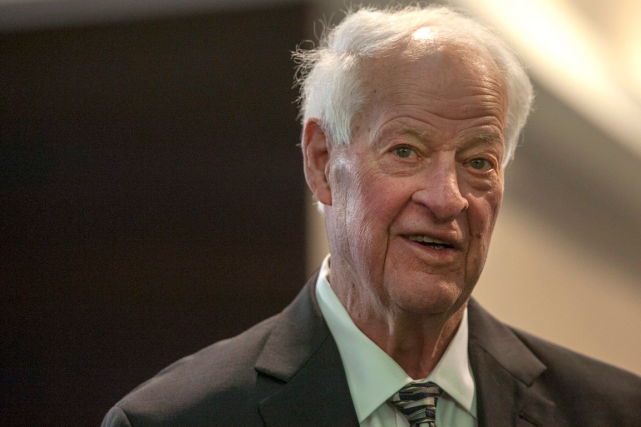 Gordie Howe était suffisamment en forme pour assister, en... (Photo Liam Richards, archives PC)