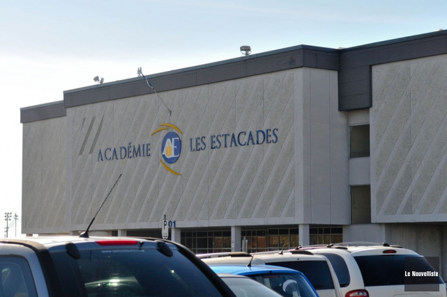 Les enseignants de l'Académie les Estacades, dans le secteur... (Photo: Émilie O'Connor, Le Nouvelliste)