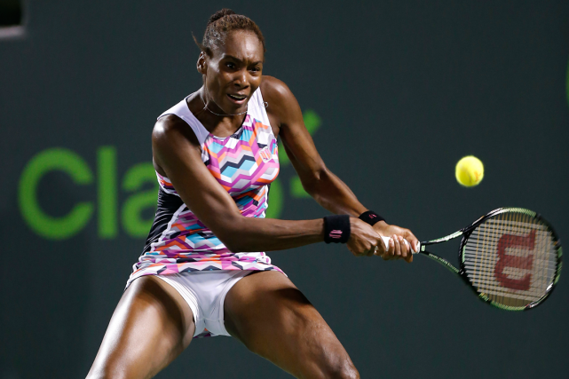 Venus Williams... (Photo Geoff Burke, USA Today)