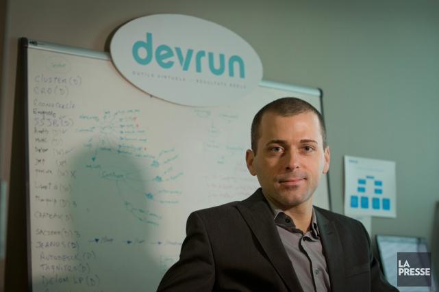 Ingénieur informatique de formation, Jonathan Roy, 33 ans,... (PHOTO IVANOH DEMERS, LA PRESSE)