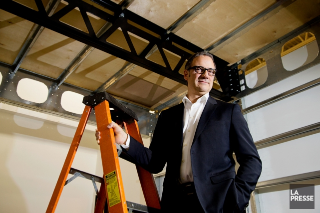 Marc-André Bovet, 54 ans, est le président-fondateur de... (PHOTO ALAIN ROBERGE, LA PRESSE)