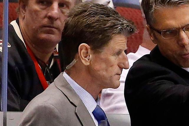 MarkReeds agissait comme entraîneur-adjoint avec les Sénateurs d'Ottawa... (Photo Ross D. Franklin, archives AP)