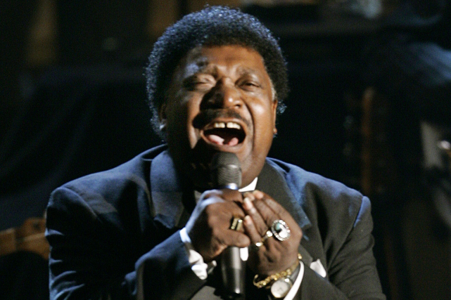 Percy Sledge... (Photo Timothy A. Clary, archives AFP)