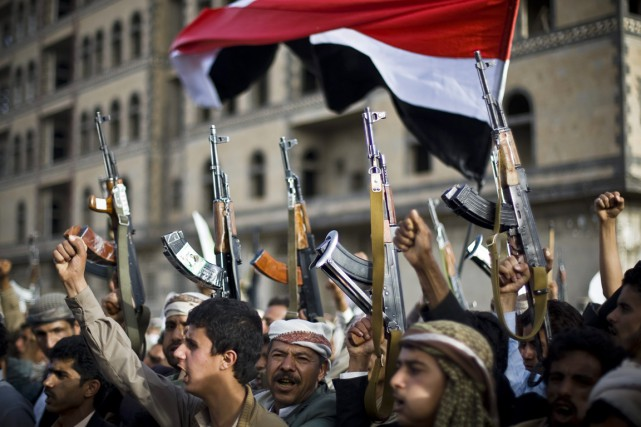 Le Conseil exige que les miliciens chiites cessent... (PHOTO HANI MOHAMMED, ARCHIVES AP)