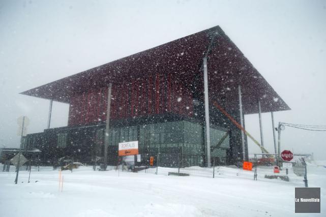 L'Amphithéâtre de Trois-Rivières.... (Photo: Stéphane Lessard, Le Nouvelliste)
